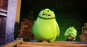 Кадр из Angry Birds в кино