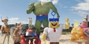 Кадр из Губка Боб в 3D (2015)