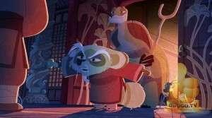 Кадр из Кунг-фу Панда: Загадки свитка