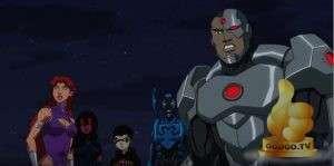 Кадр из Лига Справедливости против Юных Титанов