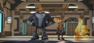 Кадр из Рэтчет и Кланк: Галактические рейнджеры