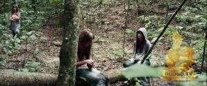 Кадр из Девушка в лесу