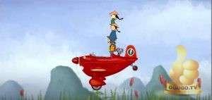 Кадр из Приключения красного самолетика