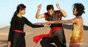 Кадр из Танцующий в пустыне (2016)