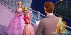 Кадр из Барби: Рок-принцесса