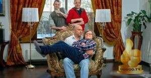 Кадр из Два отца и два сына