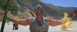 Кадр из Давид и Голиаф