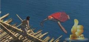 Кадр из Красная черепаха